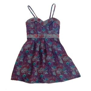 FP brocade dress